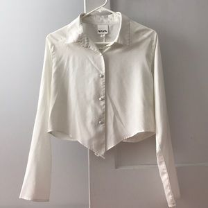 White blouse (Urban Outfitters)